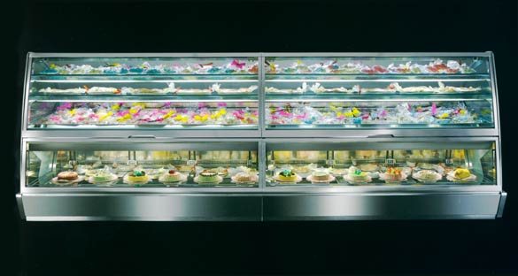 Gelato Pastry Display Case - Gelostandard Fiorentina Model